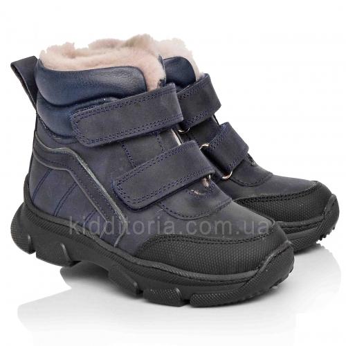 Зимові дитячі черевики на липучках (Артикул 772-04)
